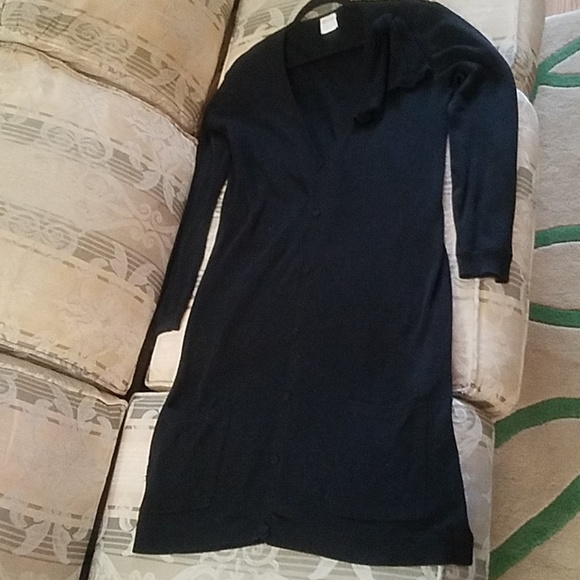 Red Valentino Dresses Black Sweater Dress With Bow Poshmark